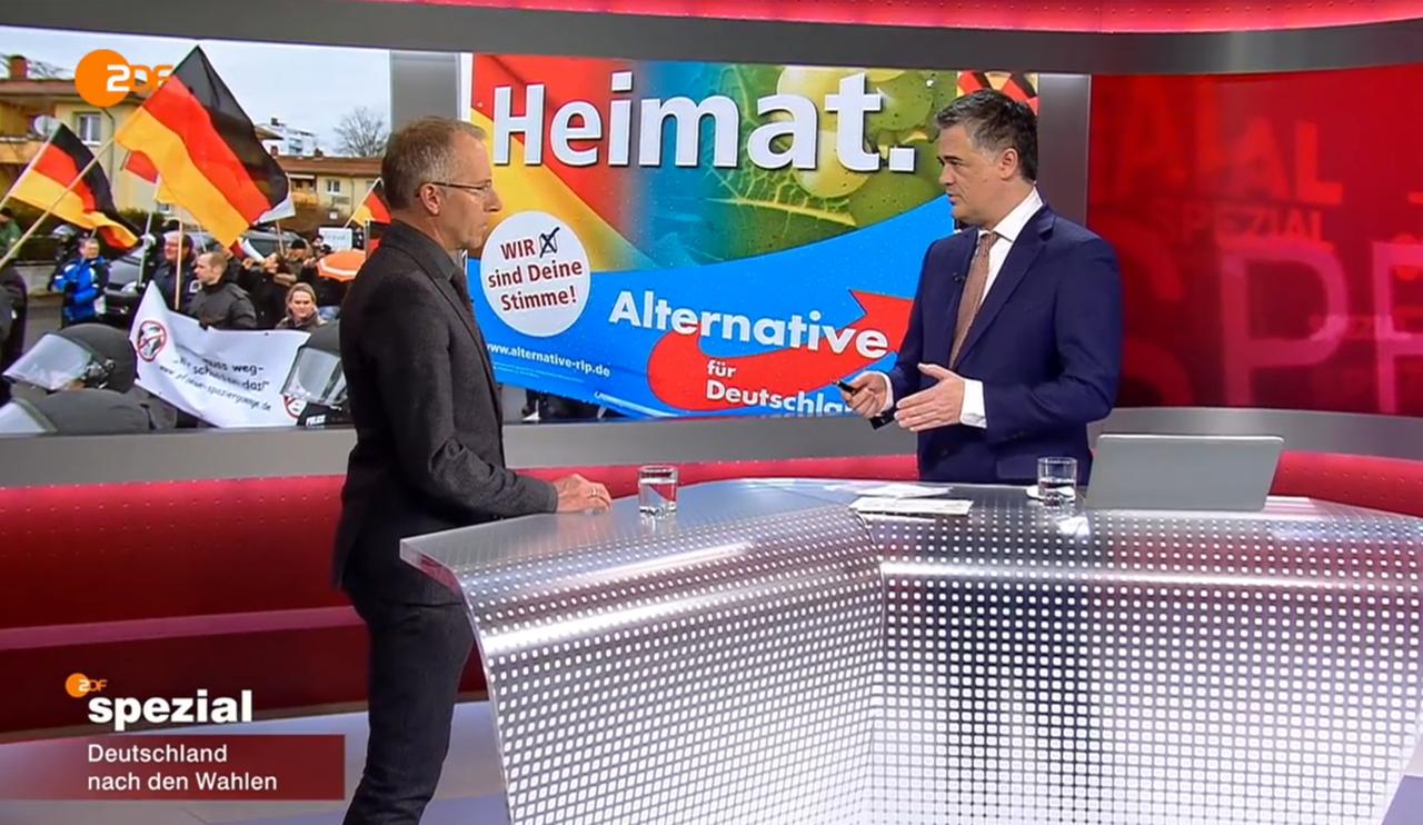 Karl-Rudolf Korte im ZDF- Spezial