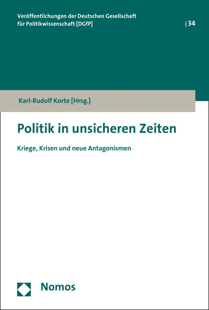 Cover Politik in unsicheren Zeiten