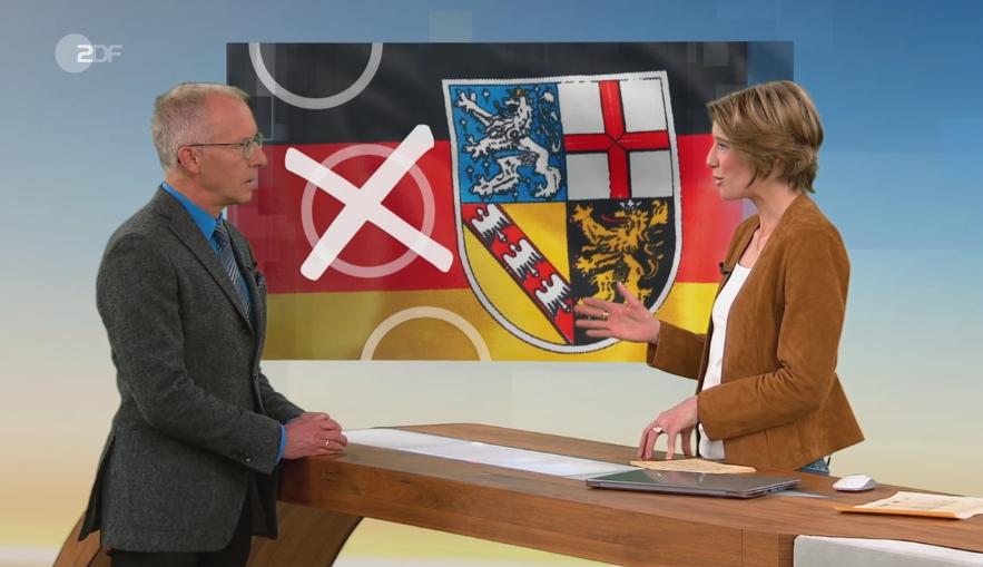Prof. Dr. Karl-Rudolf Korte analysiert das Wahlergebnis der Landtagswahl im Saarland