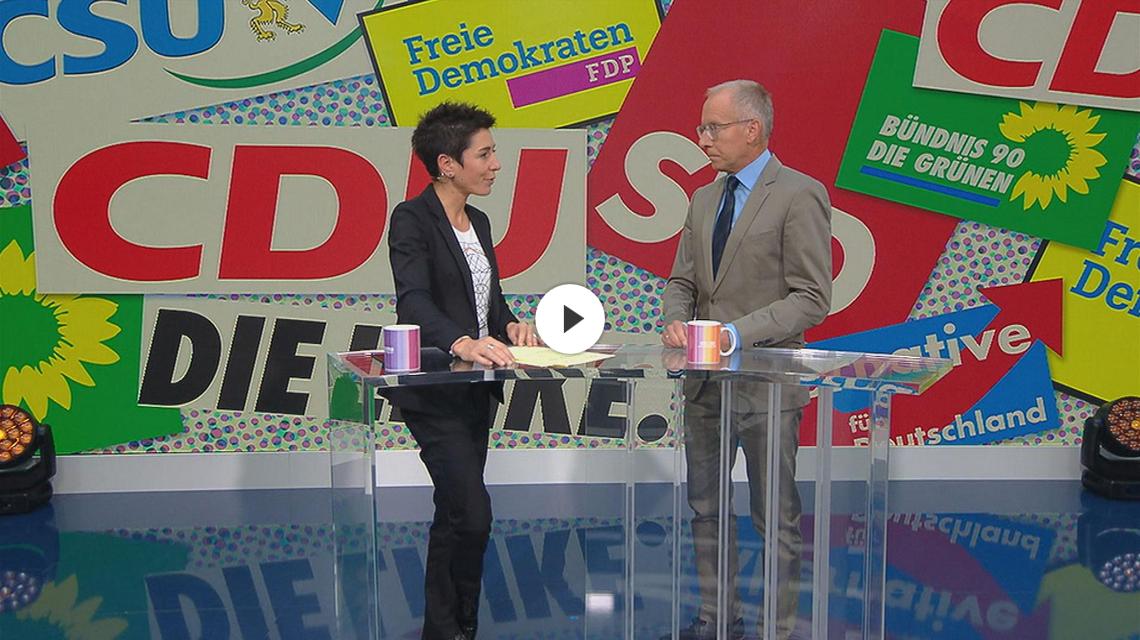 ZDF-Morgenmagazin: Prof. Dr. Karl-Rudolf Korte mit Analysen zur Bundestagswahl